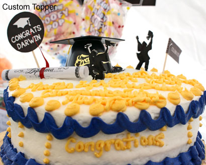 Custom Graduation Party Cake Toppers DIY