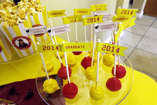 DIY Graduation Party Printables by JusPrintables