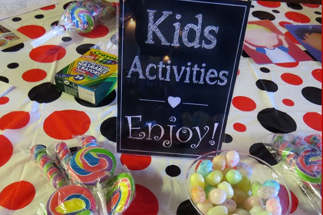 Activity Ideas For Kids at Parties